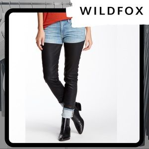 🐰 NWOT WILDFOX Marianne Poetry Thigh High Jeans